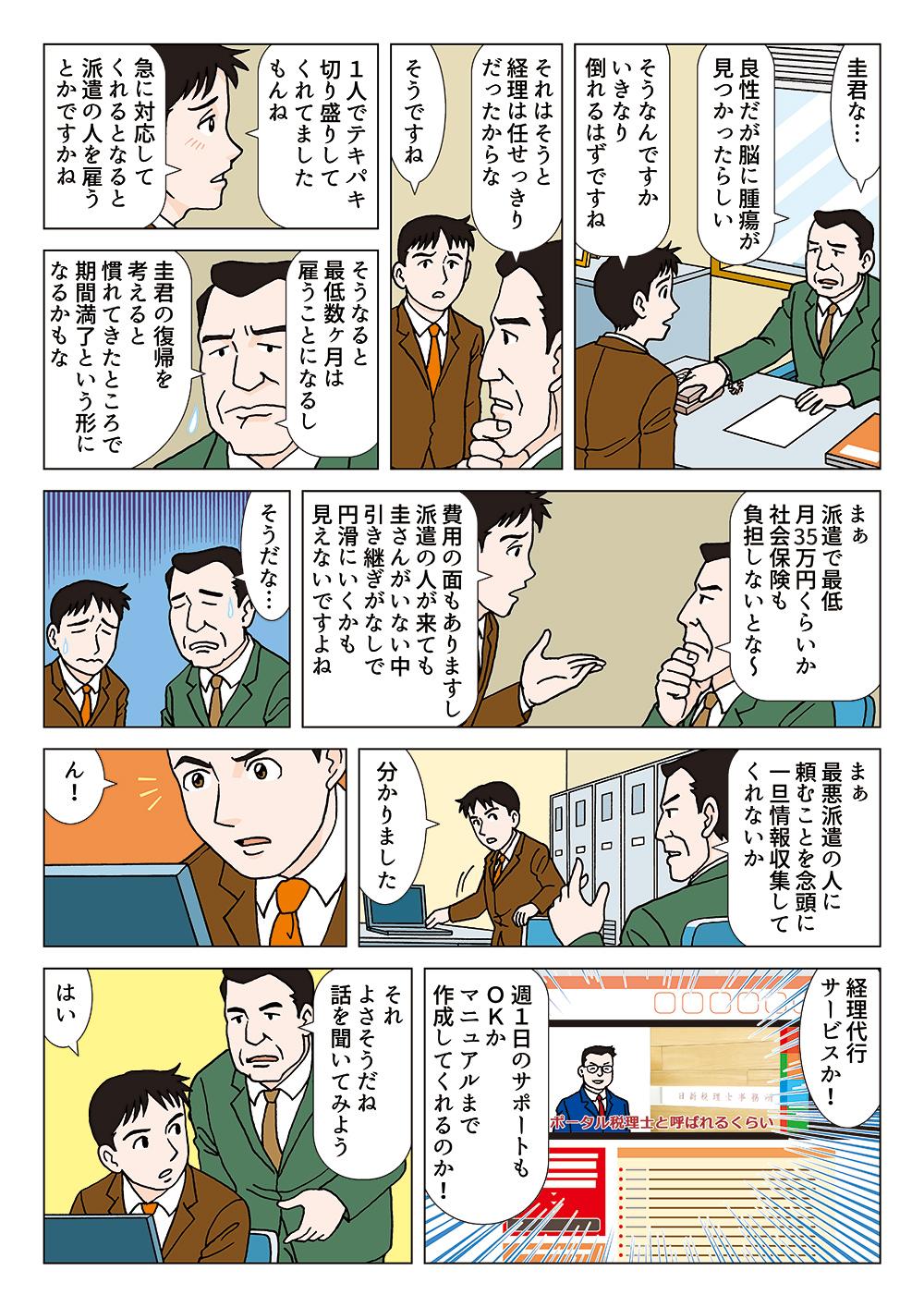 大阪で税理士が運営する経理代行(経理・記帳・給与計算・資金繰り管理・経理業務改善)サービス
